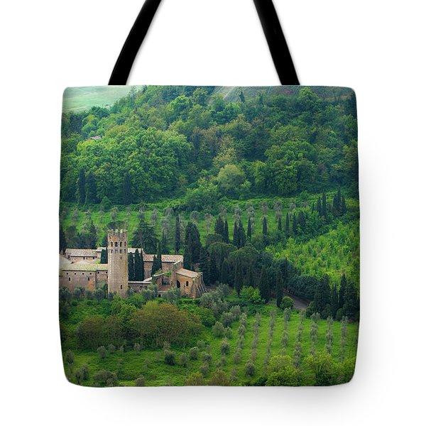 Orvieto Castle Tote Bag