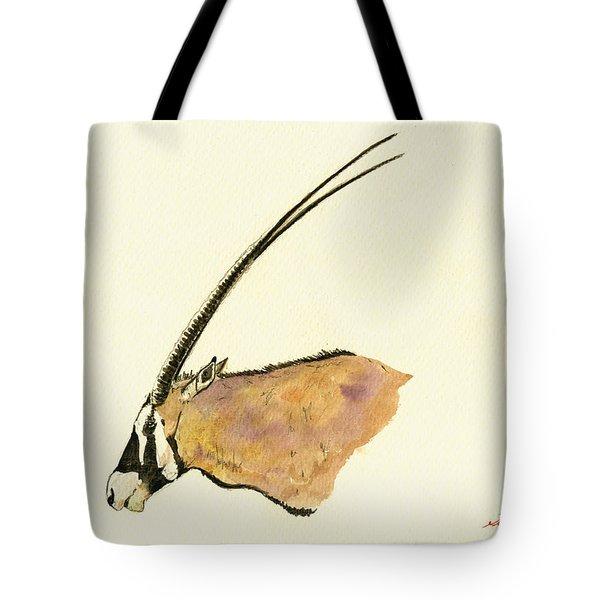 Oryx Tote Bag