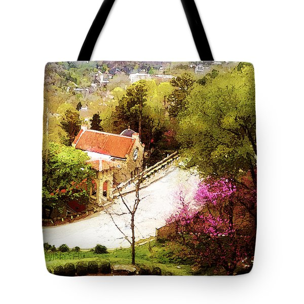 Osark Mountain Easter Tote Bag