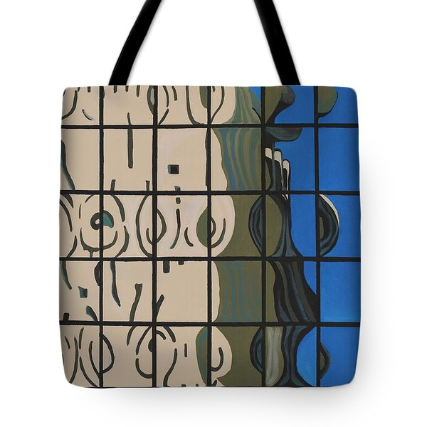 Osborn Reflections Tote Bag by Alika Kumar