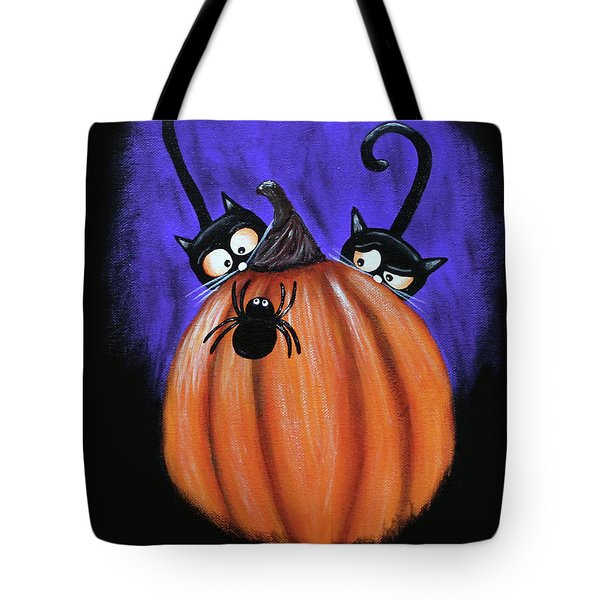 Oscar And Matilda - A Spider Oh Heck No Tote Bag
