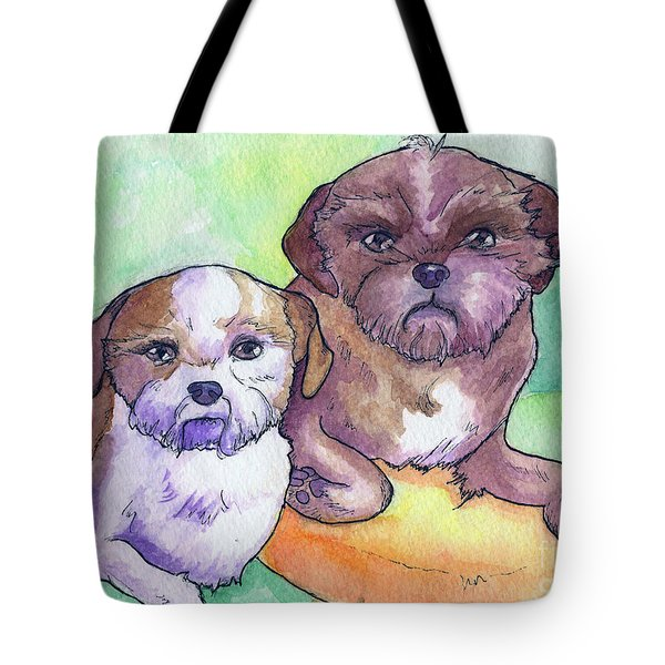 Oscar And Max Tote Bag