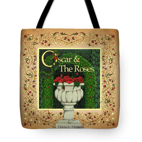 Oscar And The Roses Book Cover Tote Bag
