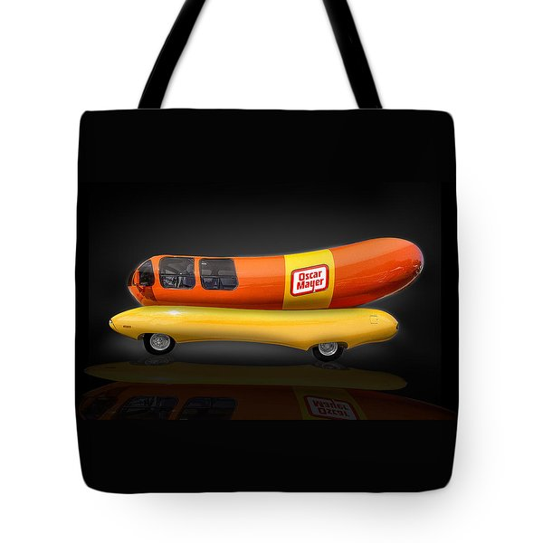 Oscar Mayer Wiener Mobile Tote Bag by Gary Warnimont