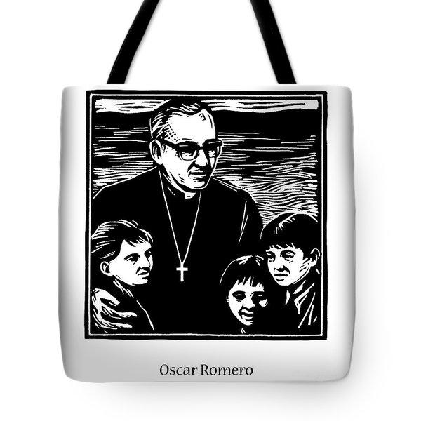 St. Oscar Romero - Jlosc Tote Bag