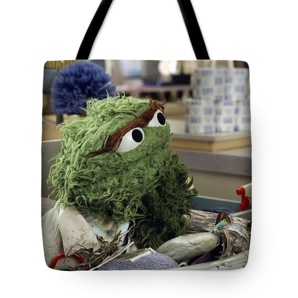 Oscar The Grouch Tote Bag