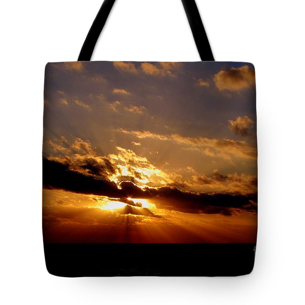 Osculate Tote Bag by Priscilla Richardson