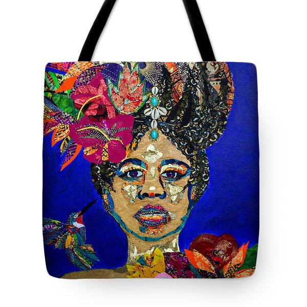 Oshun Blooming Tote Bag