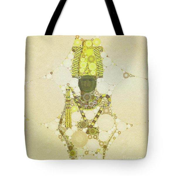 Osiris, God Of Egypt By Mb Tote Bag