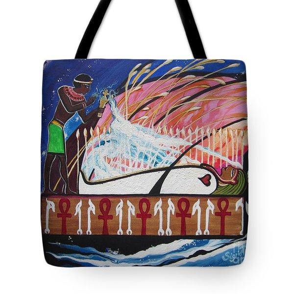 Osiris - Nepra By Blaa Kattproduksjoner  Tote Bag