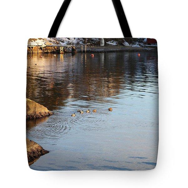 Oslo Fjords In Norway.  Tote Bag