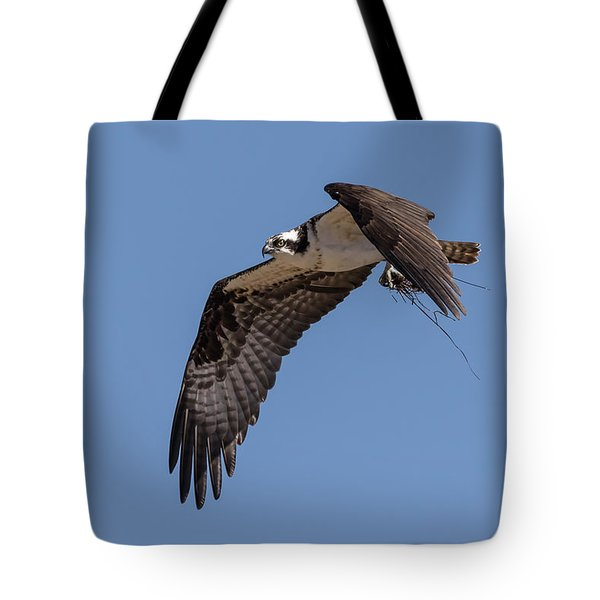 Tote Bag featuring the photograph Osprey 2017-1 by Thomas Young
