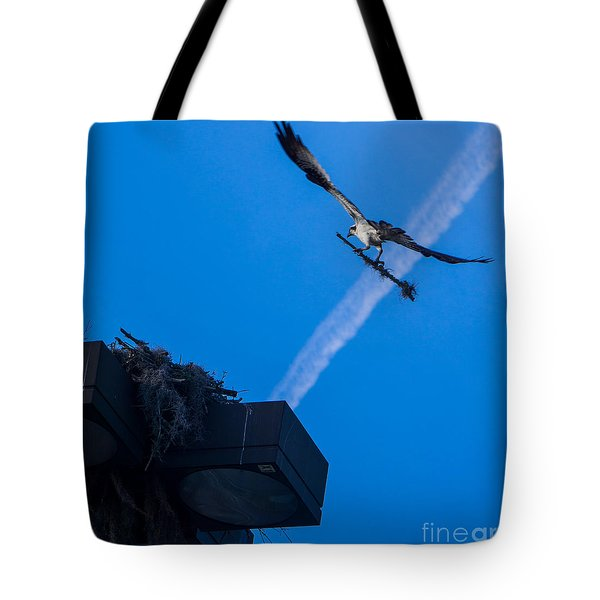 Osprey Carrying Stick To Nest Tote Bag