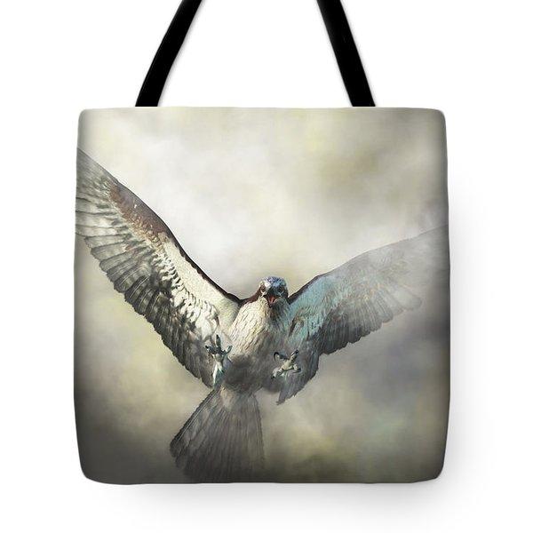 Osprey Tote Bag by Daniel Eskridge