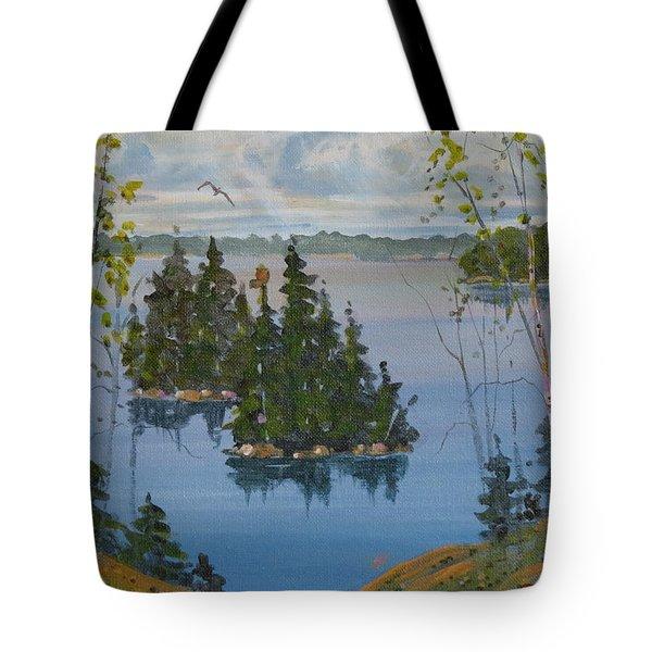 Osprey Island Study Tote Bag