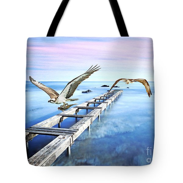 Osprey On The Move Tote Bag
