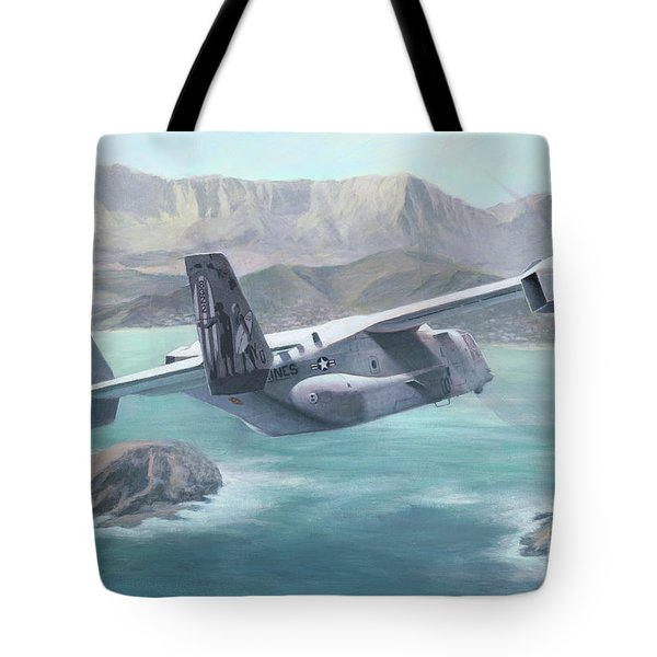 Osprey Over The Mokes Tote Bag