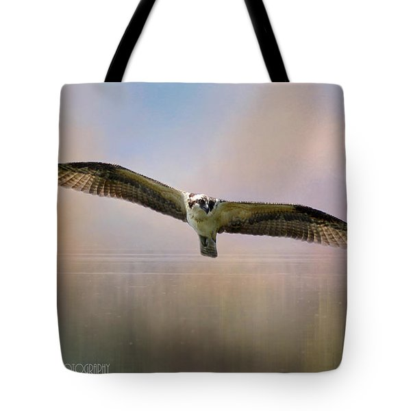 Osprey Over The Shenandoah Tote Bag by Kathy Russell