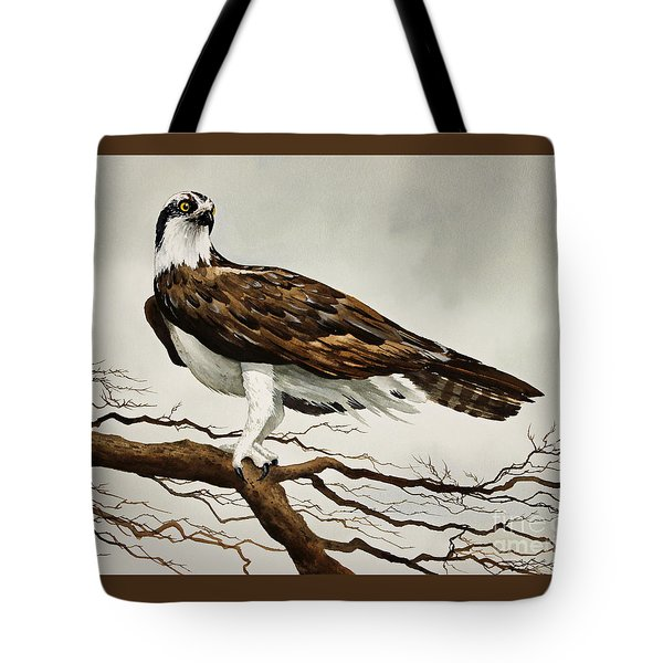 Osprey Sea Hawk Tote Bag by James Williamson