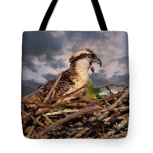 Osprey Talk Tote Bag