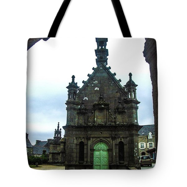 Ossuary Of St Thegonnec Tote Bag by Helen Northcott