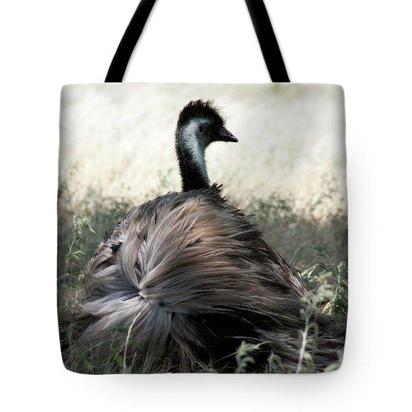 Ostracized Ostrich Tote Bag by Douglas Barnard