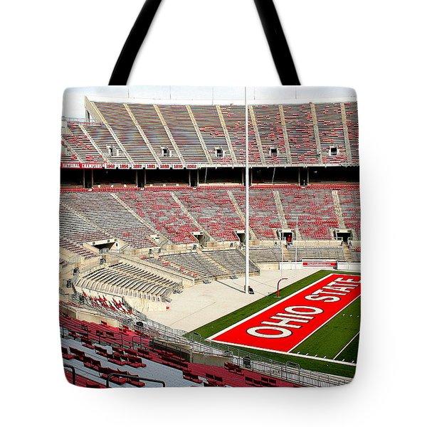 Osu Football Stadium Tote Bag