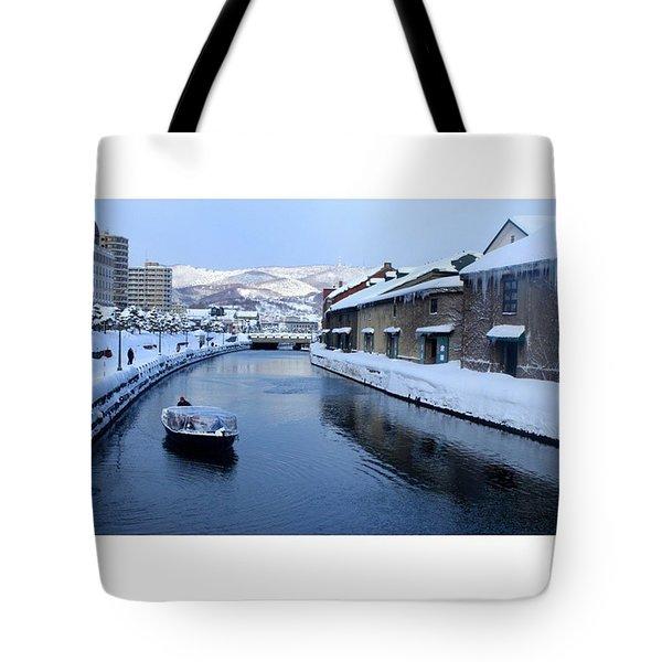 Otaru Canal Tote Bag