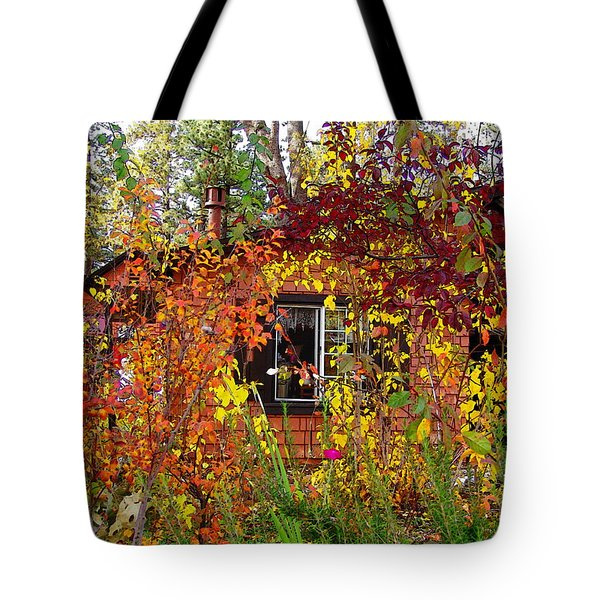 Tote Bag featuring the photograph Other Side Of The Leaves by Glenn McCarthy Art and Photography
