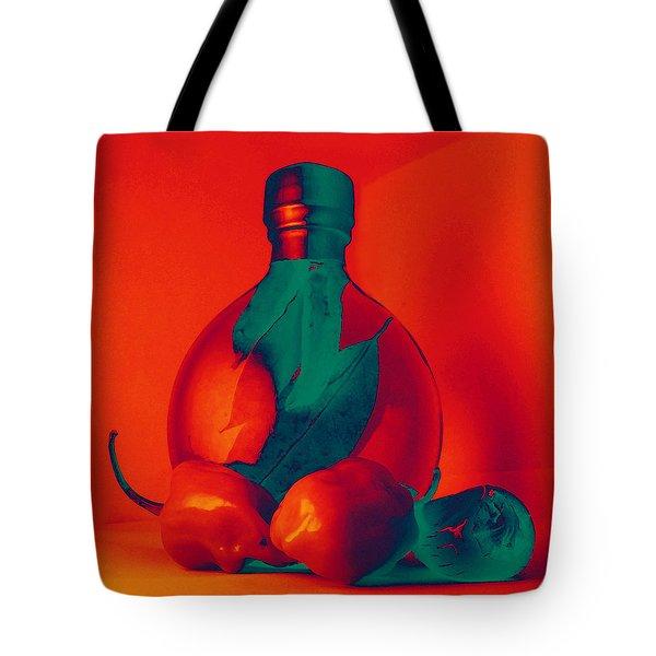 Otherworldly Habaneros Tote Bag