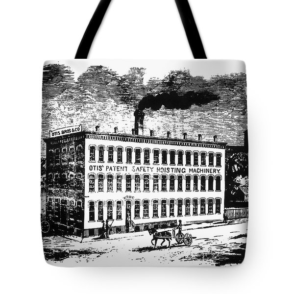 Otis Elevator Factory Tote Bag by Granger