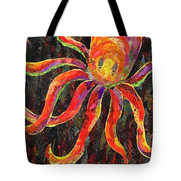 Otis The Octopus Tote Bag
