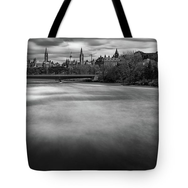 Ottawa Spring Flood Tote Bag