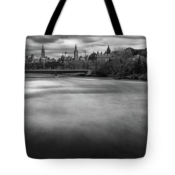 Ottawa Spring Flood Tote Bag