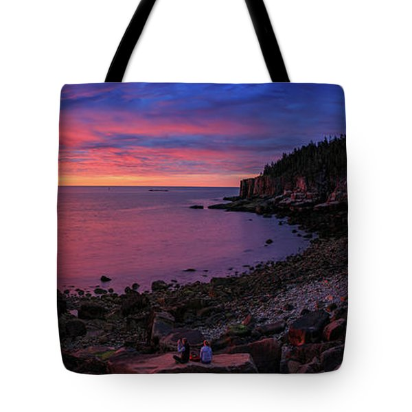 Tote Bag featuring the photograph Otter Beach Maine Sunrise  by Emmanuel Panagiotakis