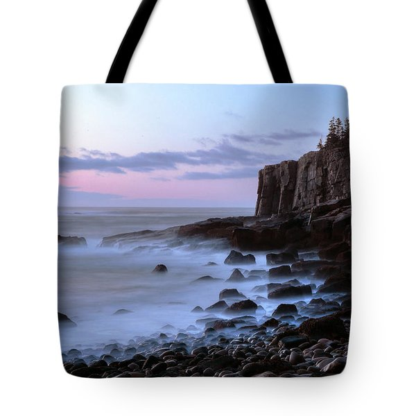 Otter Cliff Awash Tote Bag