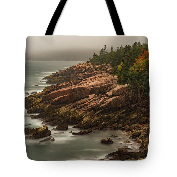 Otter Cliffs Tote Bag