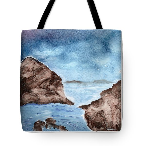 Otter Cove Tote Bag by Beverly Johnson