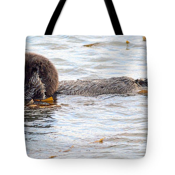 Otter Love Tote Bag