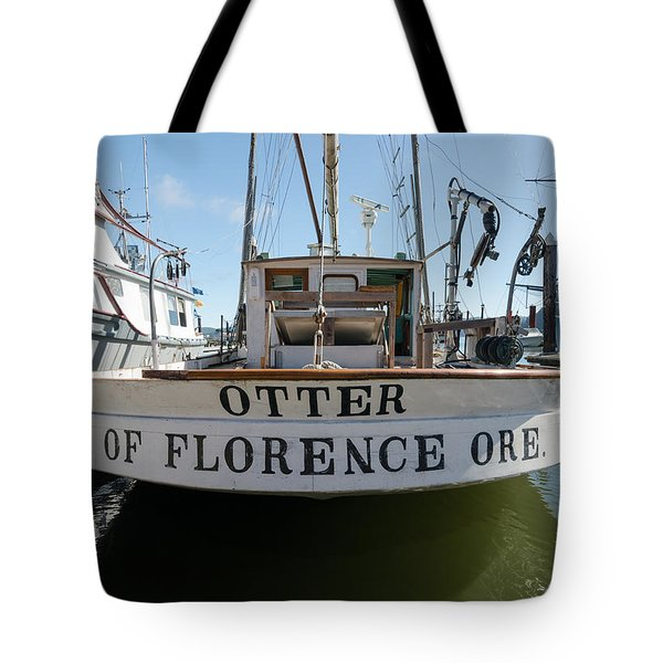 Otter Of Florence Tote Bag