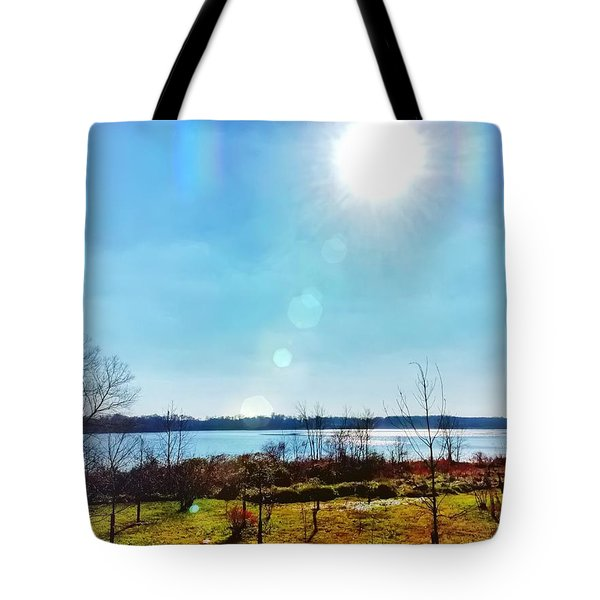 Otter Point Creek Tote Bag