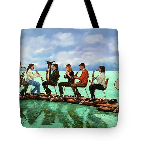 Ottetto In Navigazione Tote Bag