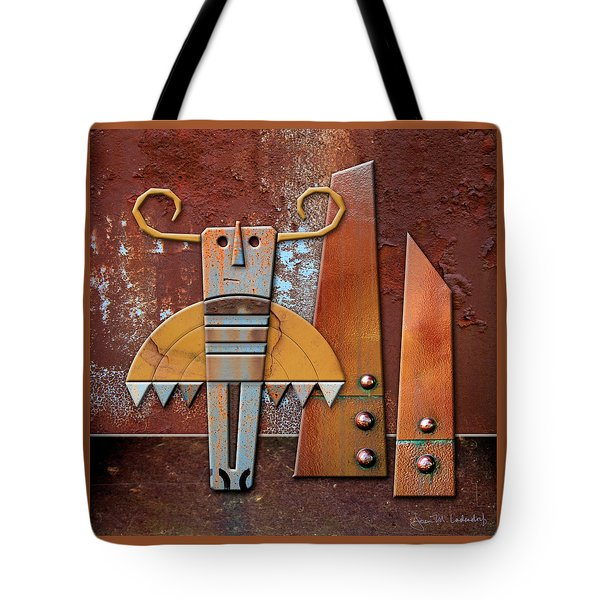 Otto The God Of October Tote Bag by Joan Ladendorf