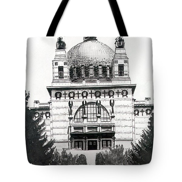 Ottowagners Church Tote Bag