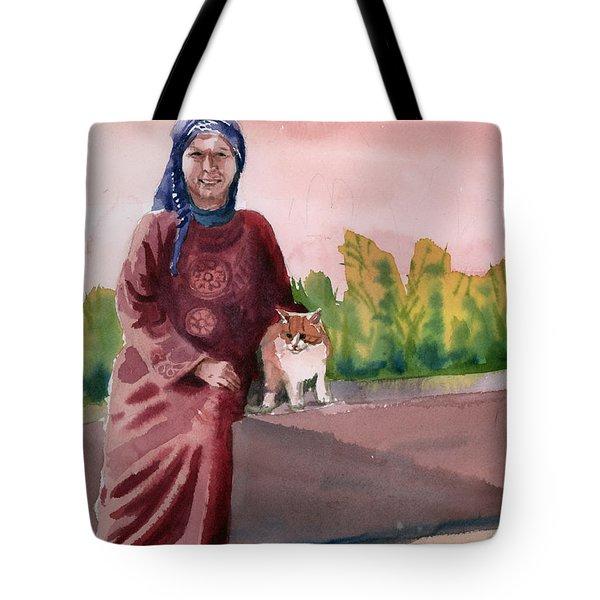 Oum  Tote Bag