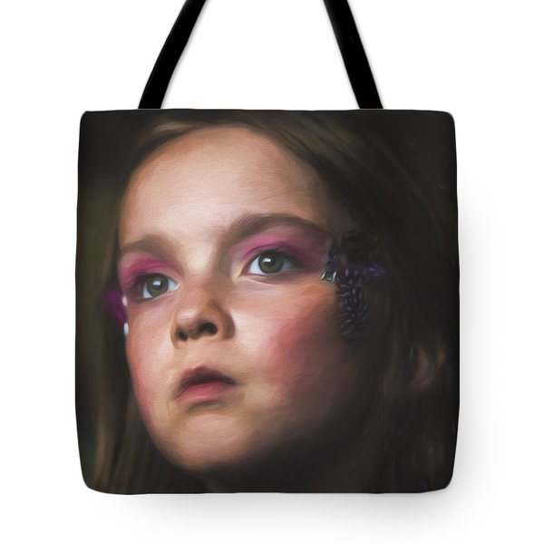 Tote Bag featuring the photograph Our Angel by Bruce Stanfield