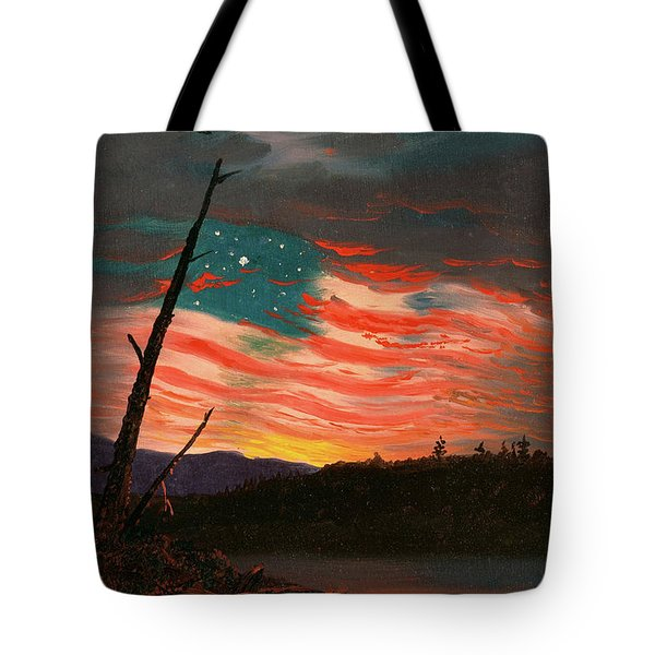 Our Banner In Sky Tote Bag