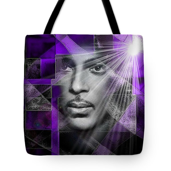Our Beautiful Purple Prince Tote Bag