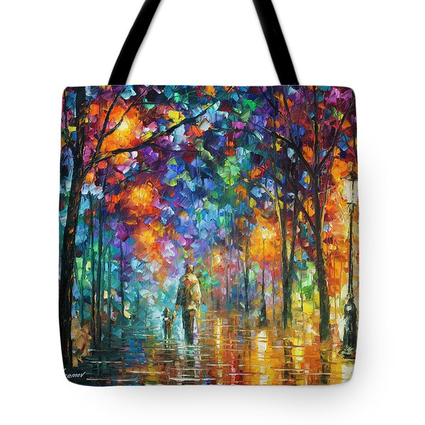 Our Best Friend  Tote Bag by Leonid Afremov