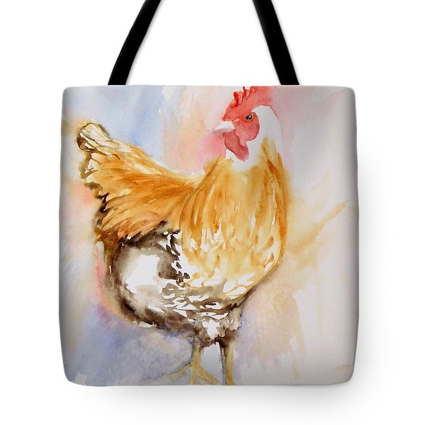 Our Buff Rooster  Tote Bag